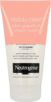 NEUTROGENA® Visibly Clear® Pink Grapefruit Cream Wash – kremowy żel do mycia twarzy
