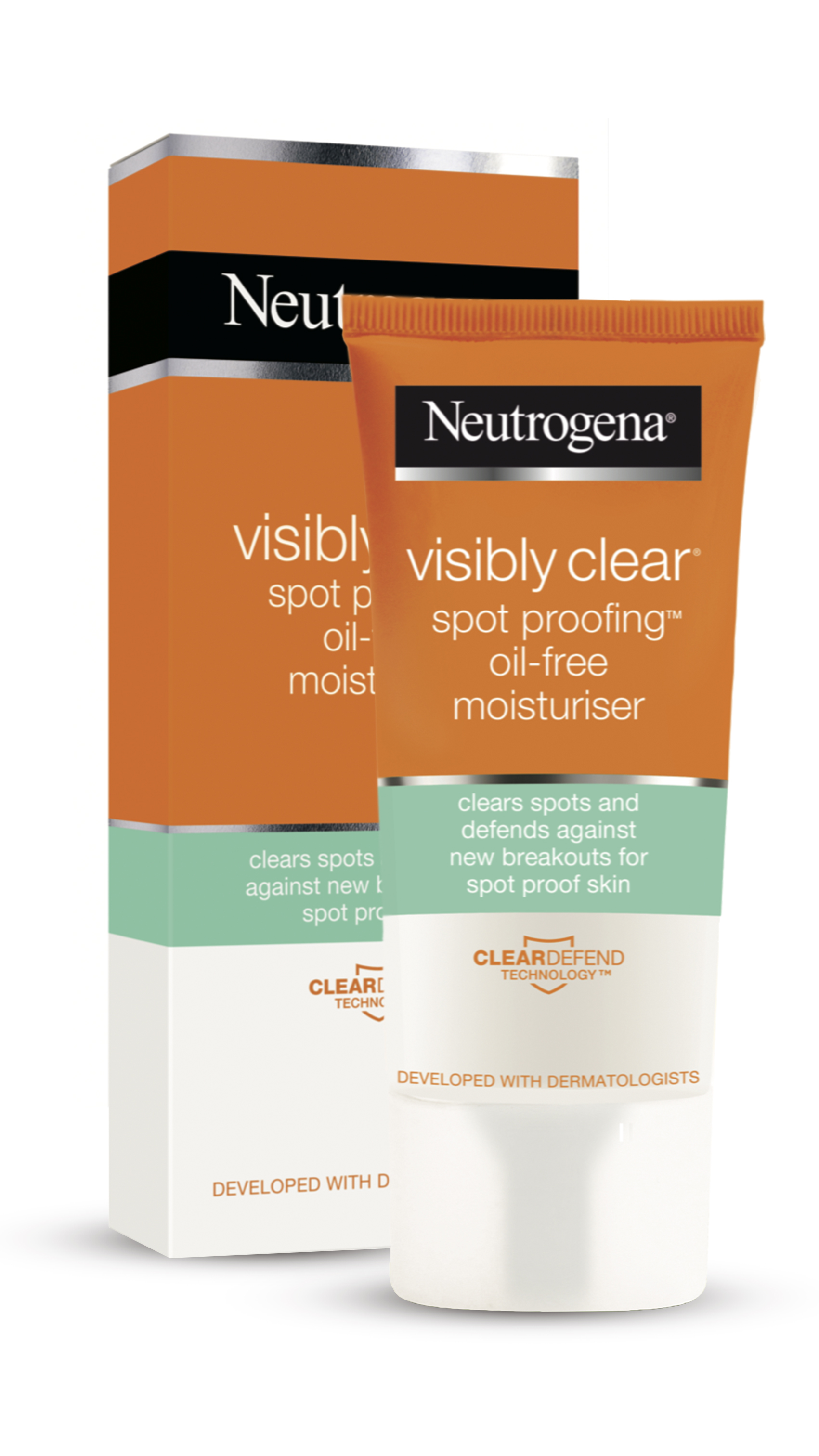NOWY VisiblyClear PG Moisturiser Pudelko copy